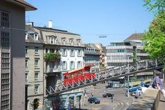 De Stad van Zürich royalty-vrije stock foto