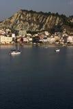 De stad van Zakynthos Stock Foto's