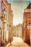 De stad van Zierikzee, Nederland Royalty-vrije Stock Afbeeldingen