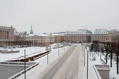 De stad van Zweden Stock Afbeelding