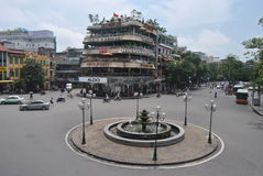 De Stad Vietnam van Hanoi stock afbeeldingen