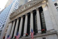 De Stad Wall Street van New York Stock Fotografie