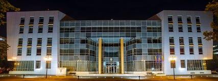 De Stadhuisbouw Royalty-vrije Stock Foto's