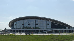 De Stadion kazan-Arena De voorwerpen van Universiade in Kazan Stock Foto