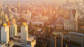 De stads centrale zaken Thailand van de binnenstad van Bangkok Royalty-vrije Stock Afbeeldingen