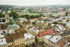 De stads hoofdmening van Europa Royalty-vrije Stock Foto