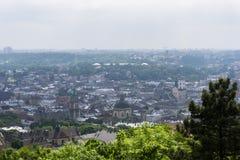 De stads hoofdmening van Europa Royalty-vrije Stock Fotografie