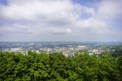 De stads hoofdmening van Europa Stock Fotografie