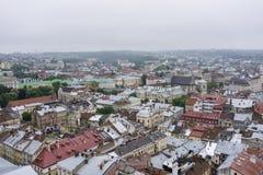 De stads hoofdmening van Europa Stock Afbeelding