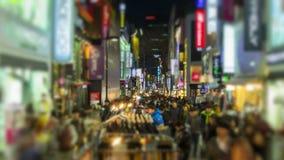 De Stads myeong-Dong Van de binnenstad van Seoel stock video