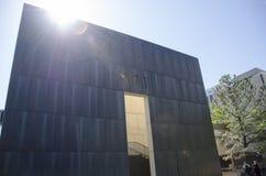 De stads nationaal gedenkteken en museum van Oklahoma stock afbeelding