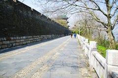 De stadsmuur van GanZhou Royalty-vrije Stock Afbeelding