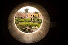 De Stads Vierkante Dag van Granada Nicaragua stock afbeelding