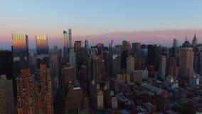 De stadsantenne van New York stock videobeelden