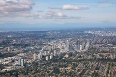 De Stadsantenne van Vancouver royalty-vrije stock foto's