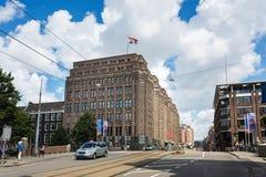De Stadsarchieven van Amsterdam Stock Afbeelding