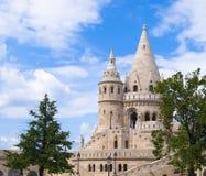 De stadsarchitectuur van Boedapest Stock Fotografie