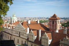 De stadsarchitectuur van Praag Royalty-vrije Stock Afbeelding