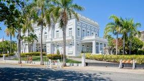 De stadsarchitectuur van San Juan Casino DE Puerto Rico royalty-vrije stock afbeelding