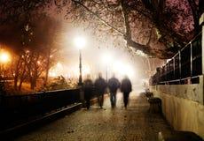 De stadsbeeld van de nacht Royalty-vrije Stock Afbeelding