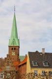 De stadscentrum 04 van Helsingor Royalty-vrije Stock Afbeeldingen