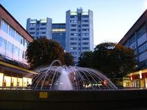 De Stadscentrum Engeland van fonteincoventry Royalty-vrije Stock Foto's