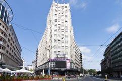 De stadscentrum van Belgrado Royalty-vrije Stock Afbeelding