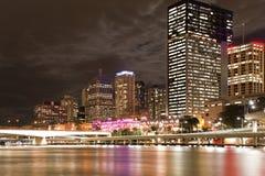De stadscentrum van Brisbane Stock Foto