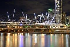 De stadscentrum van Brisbane Royalty-vrije Stock Afbeeldingen
