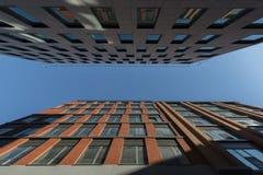De stadscentrum van Charleroi Royalty-vrije Stock Afbeeldingen