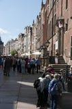 De stadscentrum van Gdansk Stock Afbeelding