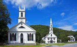 De stadscentrum van New England royalty-vrije stock fotografie
