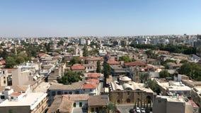 De stadscentrum van Nicosia stock videobeelden