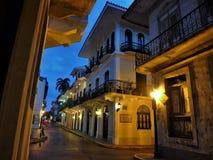 De stadscentrum van Panama stock fotografie
