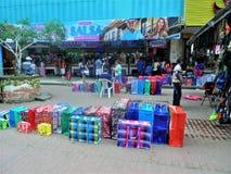 De stadscentrum van Panama stock afbeelding