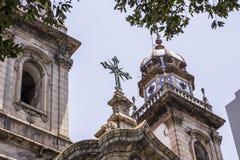 De stadscentrum van Rio DE janeiro stock foto