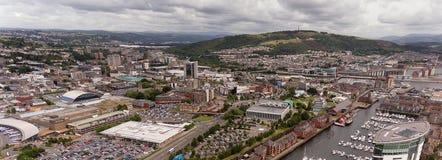 De Stadscentrum van Swansea Royalty-vrije Stock Afbeelding