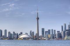 De stadscentrum van Toronto, Canada op een zonnige dag Royalty-vrije Stock Foto's