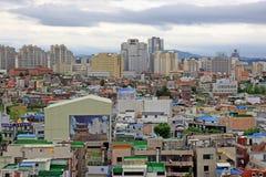 De Stadscityscape van Korea Suwon Stock Foto