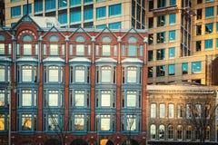 De stadsdetails van Quebec Stock Afbeeldingen
