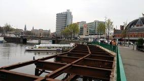 De stadsfoto van Amsterdam stock foto