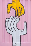 De Stadsgraffiti van Melbourne Stock Afbeelding