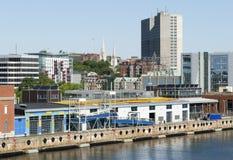 De Stadshaven van Halifax Stock Afbeeldingen