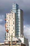 De Stadsheer City 101阁下,在提耳堡大学,荷兰米高住宅塔 免版税库存图片