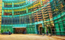 De Stadshoofdkwartier van Bloomberg New York stock afbeelding