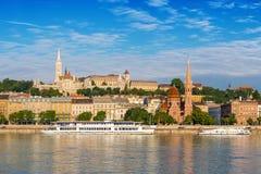 De stadshorizon van Boedapest - Boedapest - Hongarije royalty-vrije stock foto