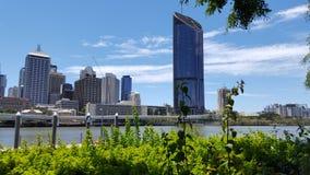 De Stadshorizon van Brisbane - de Nieuwe bouw royalty-vrije stock foto's