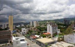 De stadshorizon van Cebu Stock Fotografie