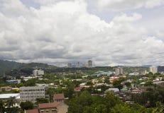 De stadshorizon van Cebu Stock Foto's