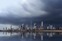 De stadshorizon van Koeweit royalty-vrije stock foto's